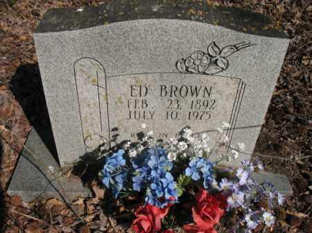 BROWN, ED - Chicot County, Arkansas | ED BROWN - Arkansas Gravestone Photos
