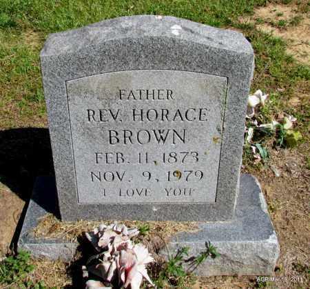 BROWN, REV, HORACE - Chicot County, Arkansas | HORACE BROWN, REV - Arkansas Gravestone Photos