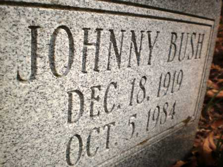 BUSH, JOHNNY (CLOSE UP) - Chicot County, Arkansas | JOHNNY (CLOSE UP) BUSH - Arkansas Gravestone Photos