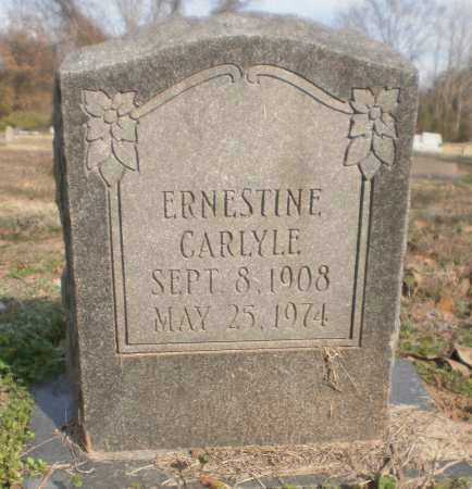 CARLYLE, ERNESTINE - Chicot County, Arkansas | ERNESTINE CARLYLE - Arkansas Gravestone Photos