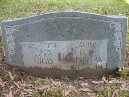 CHRISTIAN, N C - Chicot County, Arkansas   N C CHRISTIAN - Arkansas Gravestone Photos