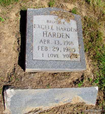 HARDEN, EXCELL HARDEN - Chicot County, Arkansas | EXCELL HARDEN HARDEN - Arkansas Gravestone Photos