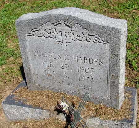 HARDEN, JULIOUS C - Chicot County, Arkansas   JULIOUS C HARDEN - Arkansas Gravestone Photos