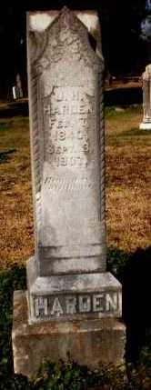 HARDEN, J H - Chicot County, Arkansas   J H HARDEN - Arkansas Gravestone Photos