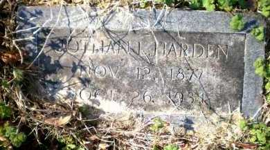 HARDEN, JOTHAN L - Chicot County, Arkansas | JOTHAN L HARDEN - Arkansas Gravestone Photos