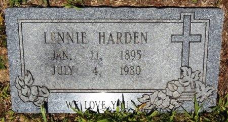 HARDEN, LINNIE - Chicot County, Arkansas | LINNIE HARDEN - Arkansas Gravestone Photos