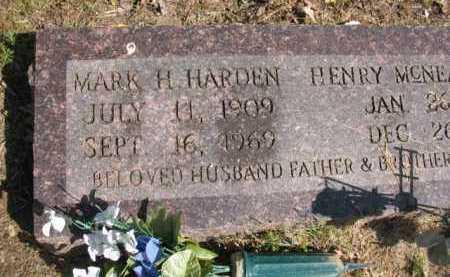HARDEN, MARK H - Chicot County, Arkansas | MARK H HARDEN - Arkansas Gravestone Photos