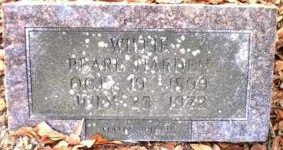 HARDEN, WILLIE PEARL - Chicot County, Arkansas   WILLIE PEARL HARDEN - Arkansas Gravestone Photos