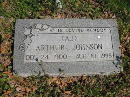 "JOHNSON, ARTHUR ""A J"" - Chicot County, Arkansas | ARTHUR ""A J"" JOHNSON - Arkansas Gravestone Photos"