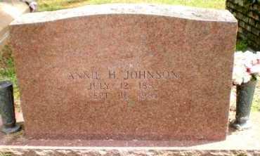 JOHNSON, ANNIE H - Chicot County, Arkansas   ANNIE H JOHNSON - Arkansas Gravestone Photos