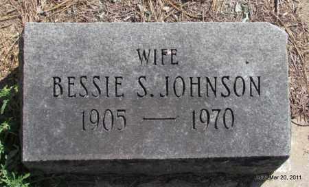 JOHNSON, BESSIE S - Chicot County, Arkansas | BESSIE S JOHNSON - Arkansas Gravestone Photos