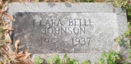 JOHNSON, CLARA BELLE - Chicot County, Arkansas | CLARA BELLE JOHNSON - Arkansas Gravestone Photos