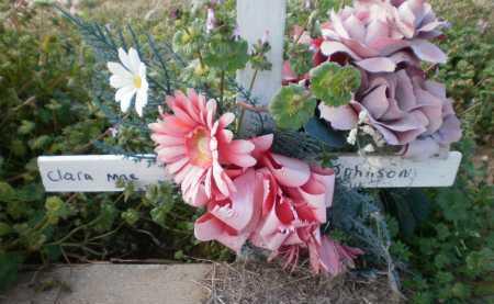 JOHNSON, CLARA MAE - Chicot County, Arkansas   CLARA MAE JOHNSON - Arkansas Gravestone Photos