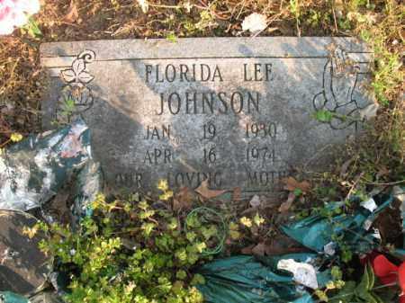 JOHNSON, FLORIDA LEE - Chicot County, Arkansas   FLORIDA LEE JOHNSON - Arkansas Gravestone Photos