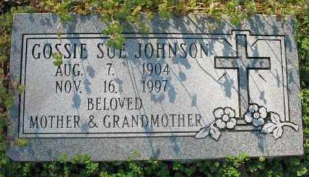 JOHNSON, GOSSIE SUE - Chicot County, Arkansas | GOSSIE SUE JOHNSON - Arkansas Gravestone Photos