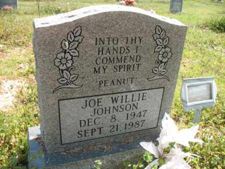 JOHNSON, JOE WILLIE - Chicot County, Arkansas | JOE WILLIE JOHNSON - Arkansas Gravestone Photos