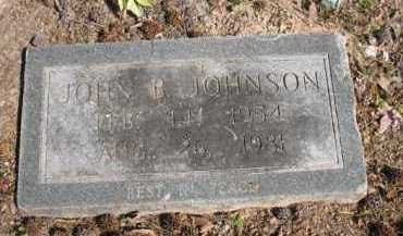 JOHNSON, JOHN B - Chicot County, Arkansas   JOHN B JOHNSON - Arkansas Gravestone Photos