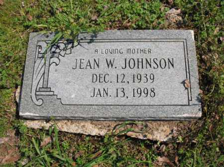 JOHNSON, JEAN W - Chicot County, Arkansas | JEAN W JOHNSON - Arkansas Gravestone Photos