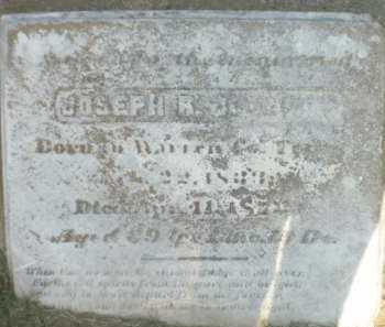 JOHNSON, JOSEPH B - Chicot County, Arkansas | JOSEPH B JOHNSON - Arkansas Gravestone Photos