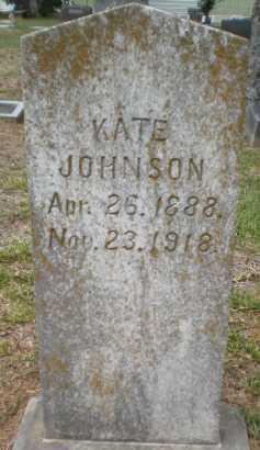 JOHNSON, KATE - Chicot County, Arkansas | KATE JOHNSON - Arkansas Gravestone Photos