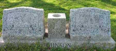 JOHNSON, L J - Chicot County, Arkansas | L J JOHNSON - Arkansas Gravestone Photos