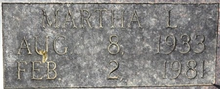 JOHNSON, MARTHA L. (CLOSE UP) - Chicot County, Arkansas | MARTHA L. (CLOSE UP) JOHNSON - Arkansas Gravestone Photos