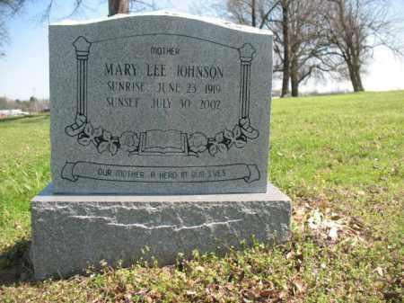 JOHNSON, MARY LEE - Chicot County, Arkansas | MARY LEE JOHNSON - Arkansas Gravestone Photos