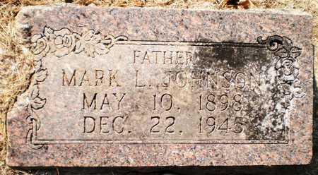 JOHNSON, MARK L - Chicot County, Arkansas   MARK L JOHNSON - Arkansas Gravestone Photos