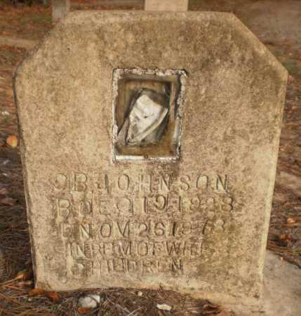 JOHNSON, O B - Chicot County, Arkansas   O B JOHNSON - Arkansas Gravestone Photos