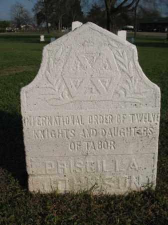 JOHNSON, PRISCILLA - Chicot County, Arkansas | PRISCILLA JOHNSON - Arkansas Gravestone Photos