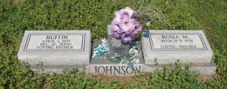 JOHNSON, RUFFIN - Chicot County, Arkansas | RUFFIN JOHNSON - Arkansas Gravestone Photos