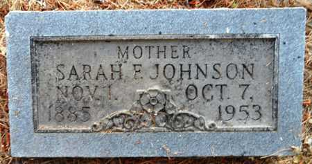 JOHNSON, SARAH F - Chicot County, Arkansas | SARAH F JOHNSON - Arkansas Gravestone Photos