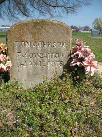 JOHNSON, TOM - Chicot County, Arkansas | TOM JOHNSON - Arkansas Gravestone Photos