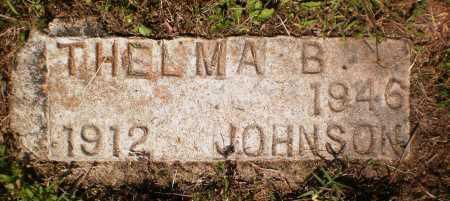 JOHNSON, THELMA B - Chicot County, Arkansas | THELMA B JOHNSON - Arkansas Gravestone Photos