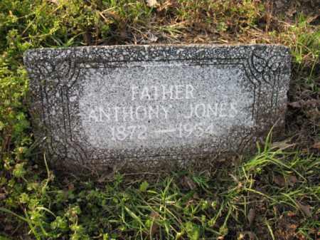 JONES, ANTHONY - Chicot County, Arkansas   ANTHONY JONES - Arkansas Gravestone Photos