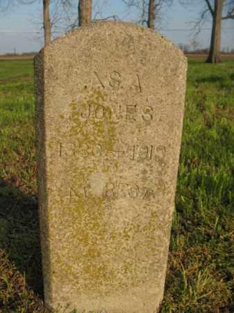 JONES, ASA - Chicot County, Arkansas | ASA JONES - Arkansas Gravestone Photos