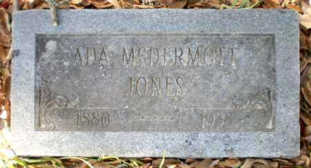 JONES, ADA - Chicot County, Arkansas   ADA JONES - Arkansas Gravestone Photos