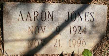 JONES, AARON - Chicot County, Arkansas | AARON JONES - Arkansas Gravestone Photos