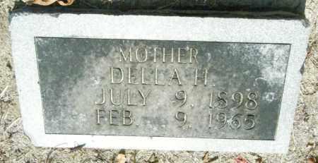 JONES, DELLA H - Chicot County, Arkansas   DELLA H JONES - Arkansas Gravestone Photos