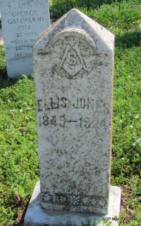JONES, ELLIS - Chicot County, Arkansas   ELLIS JONES - Arkansas Gravestone Photos