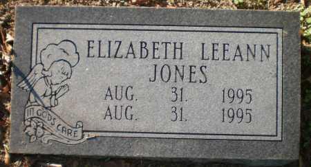 JONES, ELIZABETH LEEANN - Chicot County, Arkansas | ELIZABETH LEEANN JONES - Arkansas Gravestone Photos