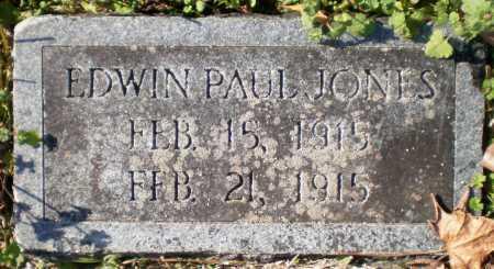 JONES, EDWIN PAUL - Chicot County, Arkansas | EDWIN PAUL JONES - Arkansas Gravestone Photos