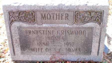 JONES, ERNESTINE - Chicot County, Arkansas   ERNESTINE JONES - Arkansas Gravestone Photos