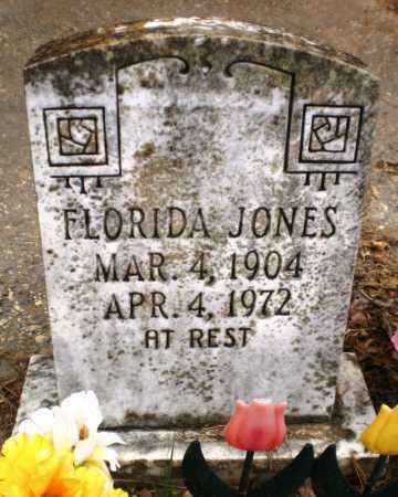 JONES, FLORIDA - Chicot County, Arkansas   FLORIDA JONES - Arkansas Gravestone Photos