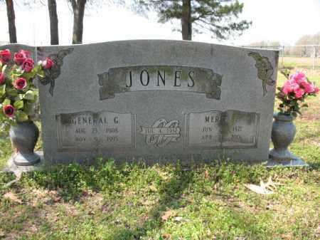 JONES, GENERAL G - Chicot County, Arkansas | GENERAL G JONES - Arkansas Gravestone Photos
