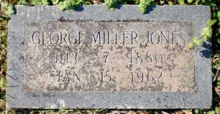 JONES, GEORGE MILLER - Chicot County, Arkansas   GEORGE MILLER JONES - Arkansas Gravestone Photos