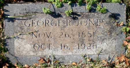 JONES, GEORGE R - Chicot County, Arkansas | GEORGE R JONES - Arkansas Gravestone Photos