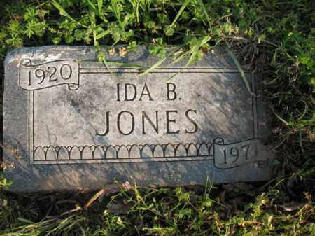 JONES, IDA B - Chicot County, Arkansas | IDA B JONES - Arkansas Gravestone Photos