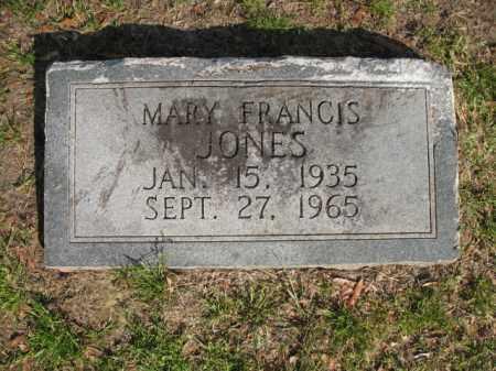 JONES, MARY FRANCIS - Chicot County, Arkansas   MARY FRANCIS JONES - Arkansas Gravestone Photos