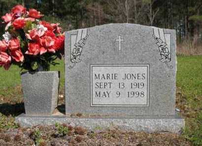 JONES, MARIE - Chicot County, Arkansas   MARIE JONES - Arkansas Gravestone Photos